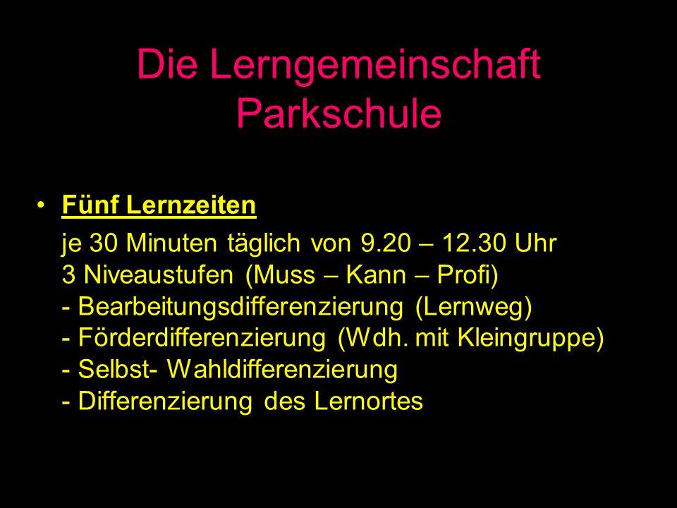 Die Lerngemeinschaft Parkschule