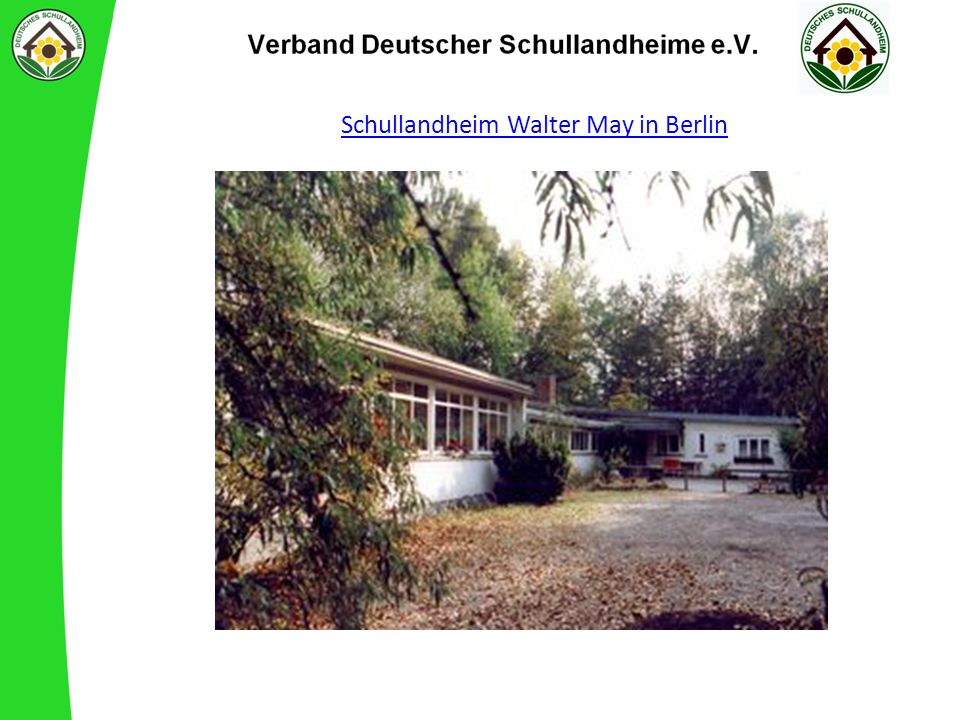 Schullandheim Walter May in Berlin