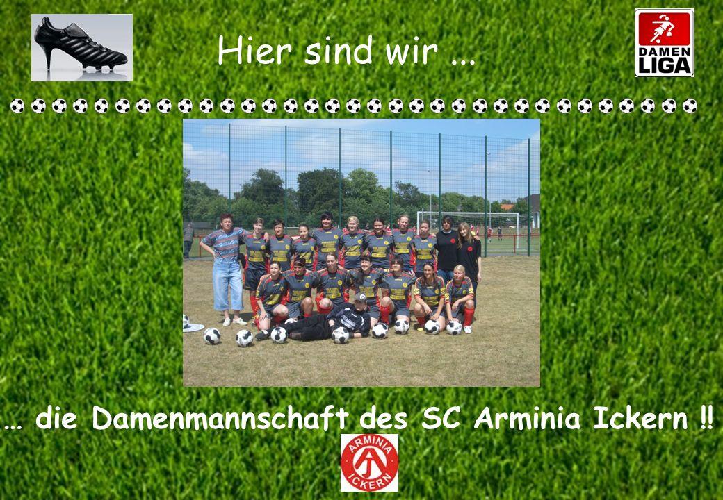 … die Damenmannschaft des SC Arminia Ickern !!