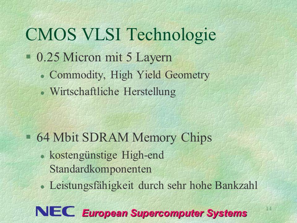 CMOS VLSI Technologie 0.25 Micron mit 5 Layern