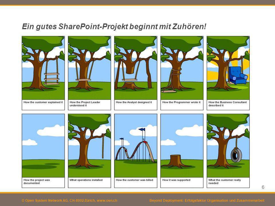 Ein gutes SharePoint-Projekt beginnt mit Zuhören!