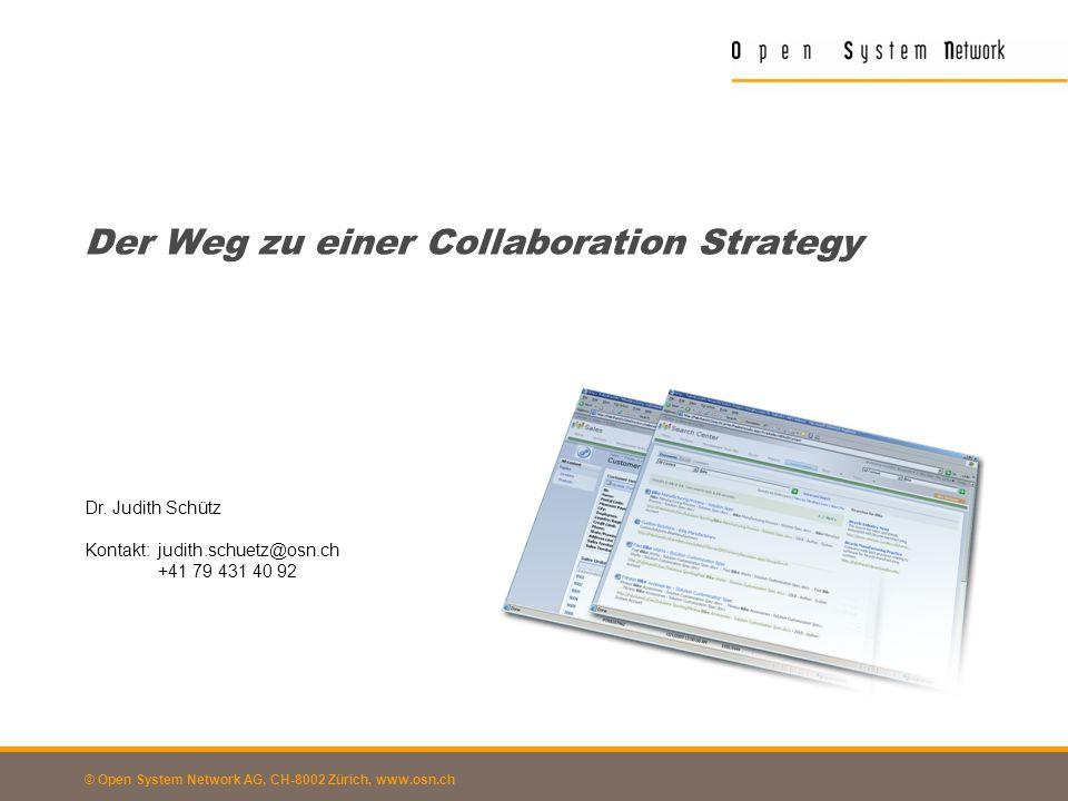 Der Weg zu einer Collaboration Strategy