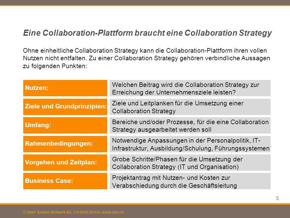 Eine Collaboration-Plattform braucht eine Collaboration Strategy