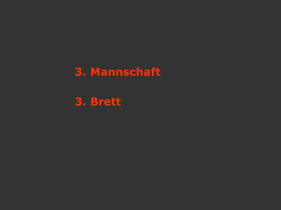 3. Mannschaft 3. Brett