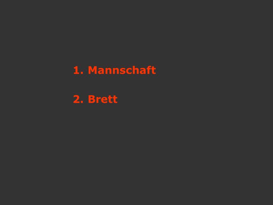 1. Mannschaft 2. Brett