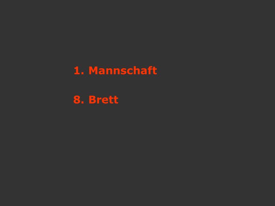 1. Mannschaft 8. Brett