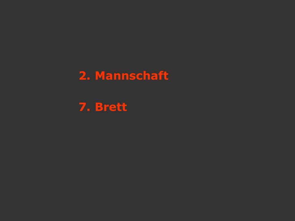 2. Mannschaft 7. Brett