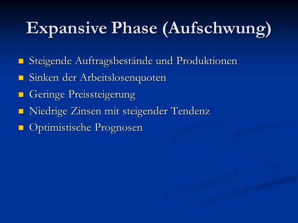 Expansive Phase (Aufschwung)