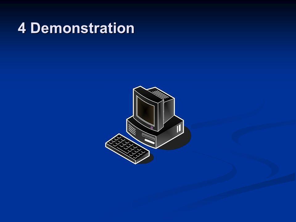 4 Demonstration