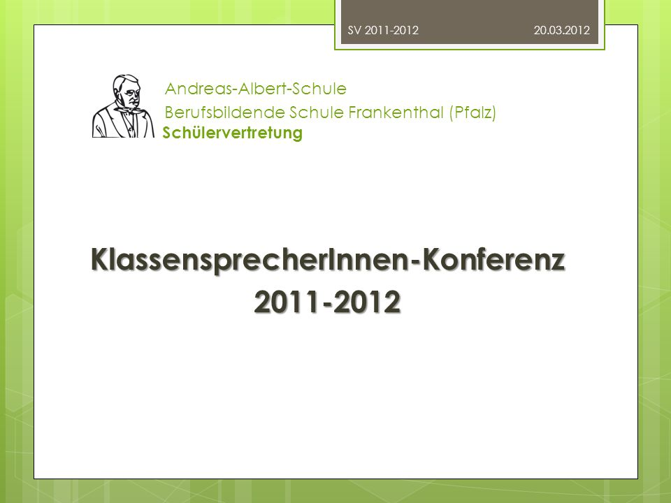 KlassensprecherInnen-Konferenz 2011-2012