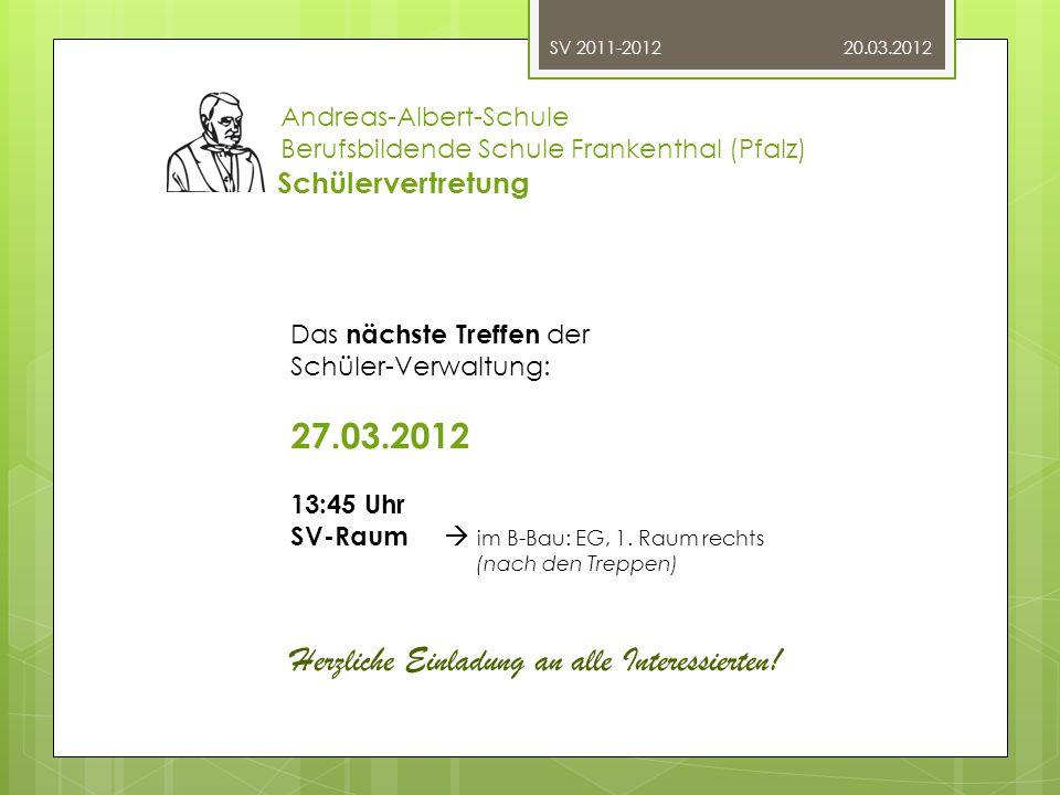 Herzliche Einladung an alle Interessierten!