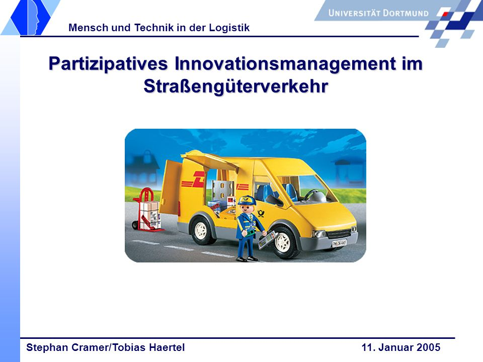Partizipatives Innovationsmanagement im Straßengüterverkehr