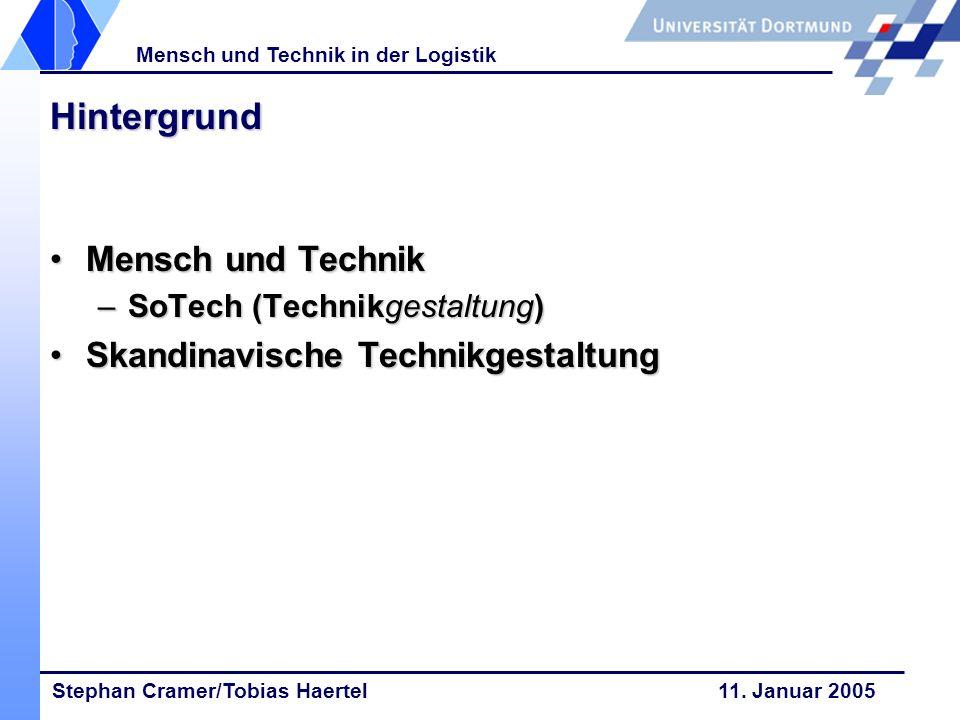 Hintergrund Mensch und Technik Skandinavische Technikgestaltung