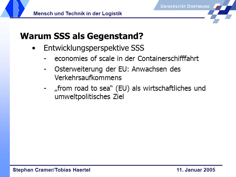 Warum SSS als Gegenstand