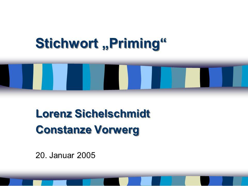 Lorenz Sichelschmidt Constanze Vorwerg