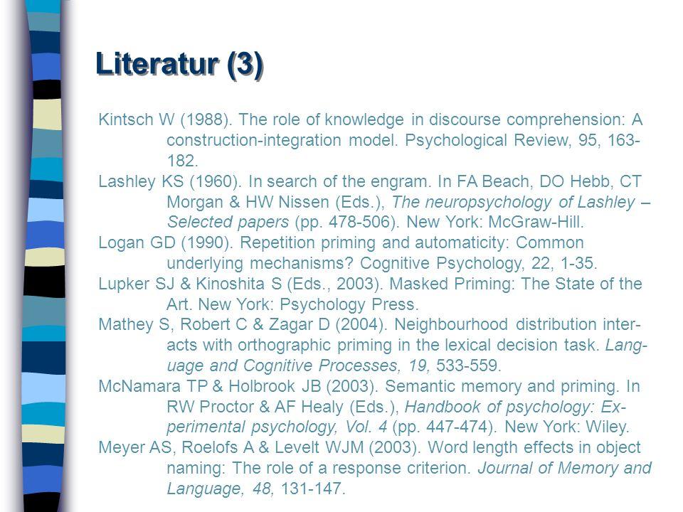 Literatur (3)