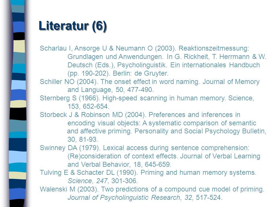 Literatur (6)