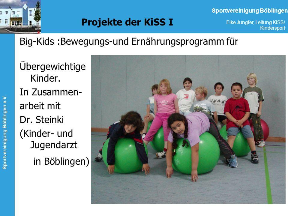 Big-Kids :Bewegungs-und Ernährungsprogramm für Übergewichtige Kinder.