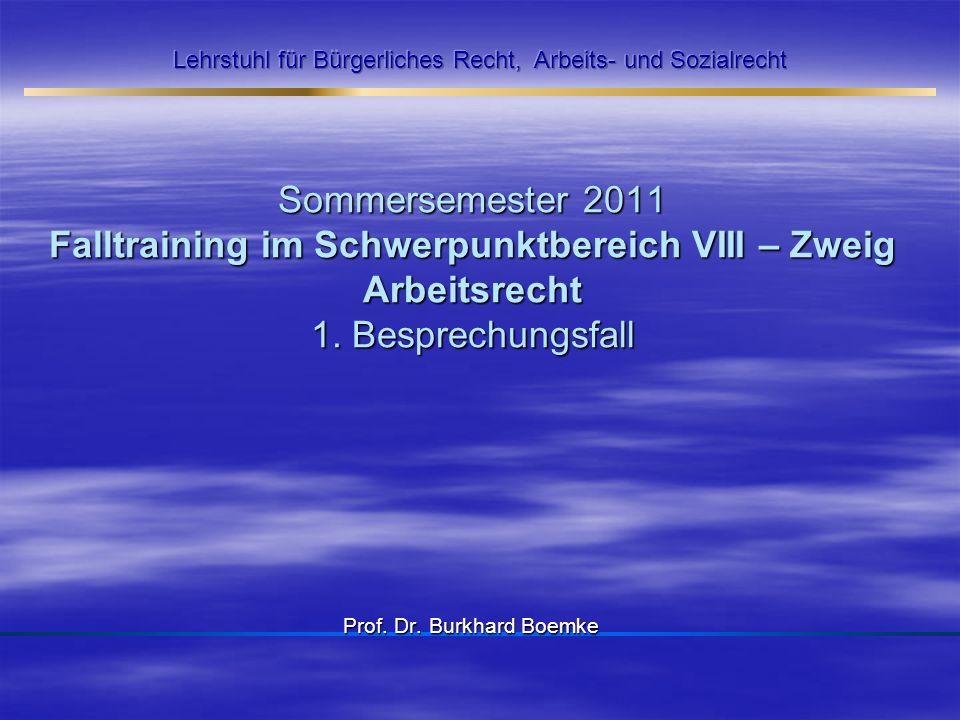 Prof. Dr. Burkhard Boemke