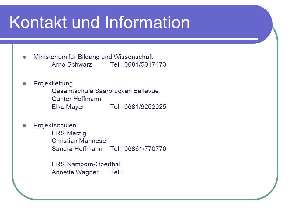 Kontakt und Information