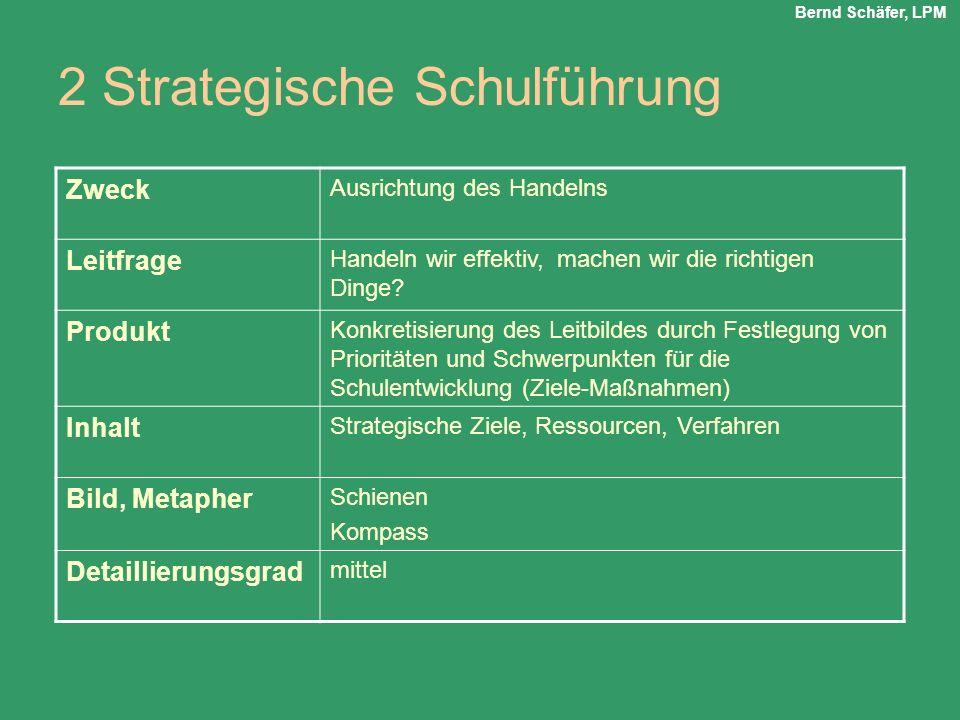 2 Strategische Schulführung
