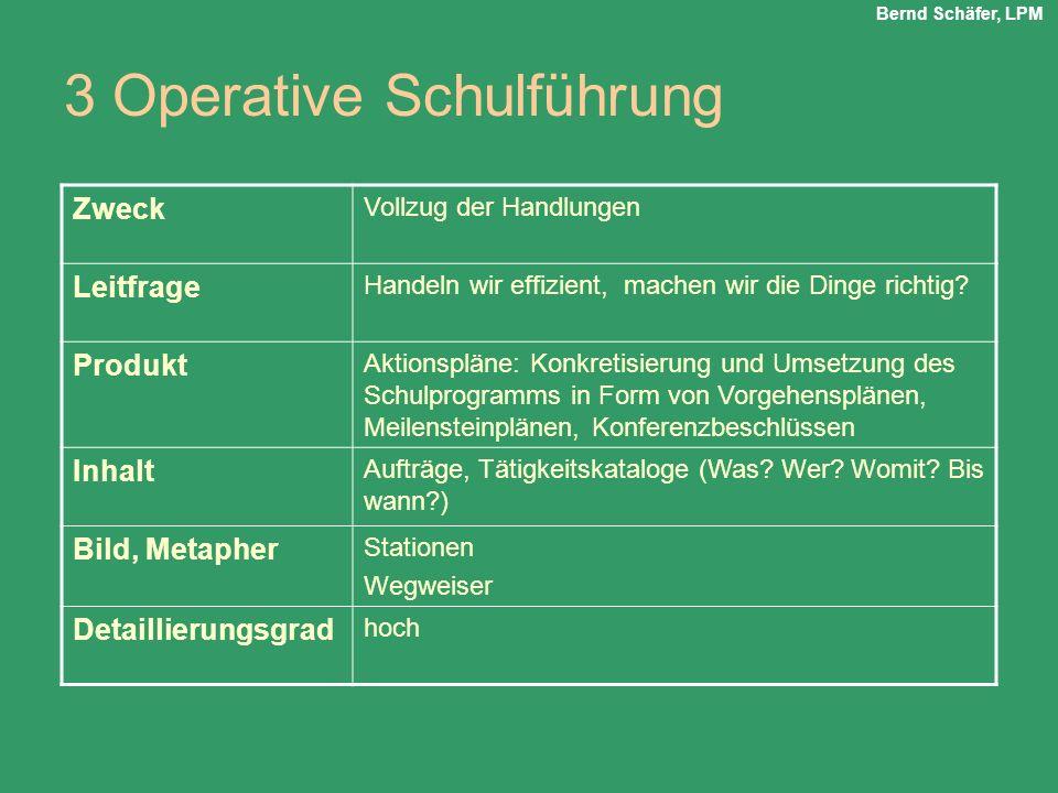 3 Operative Schulführung