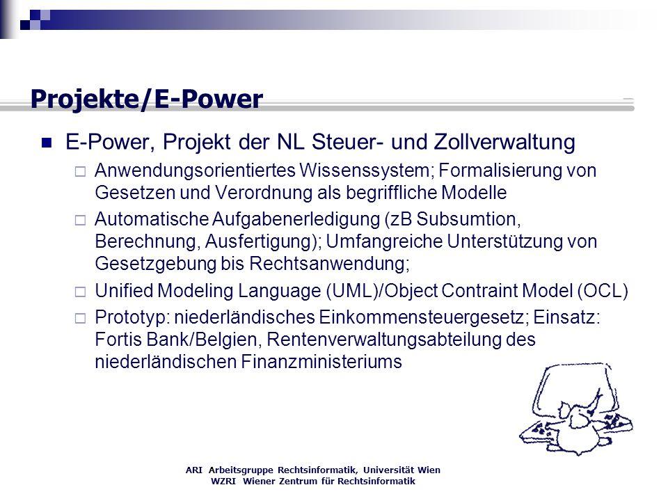 Projekte/E-Power E-Power, Projekt der NL Steuer- und Zollverwaltung