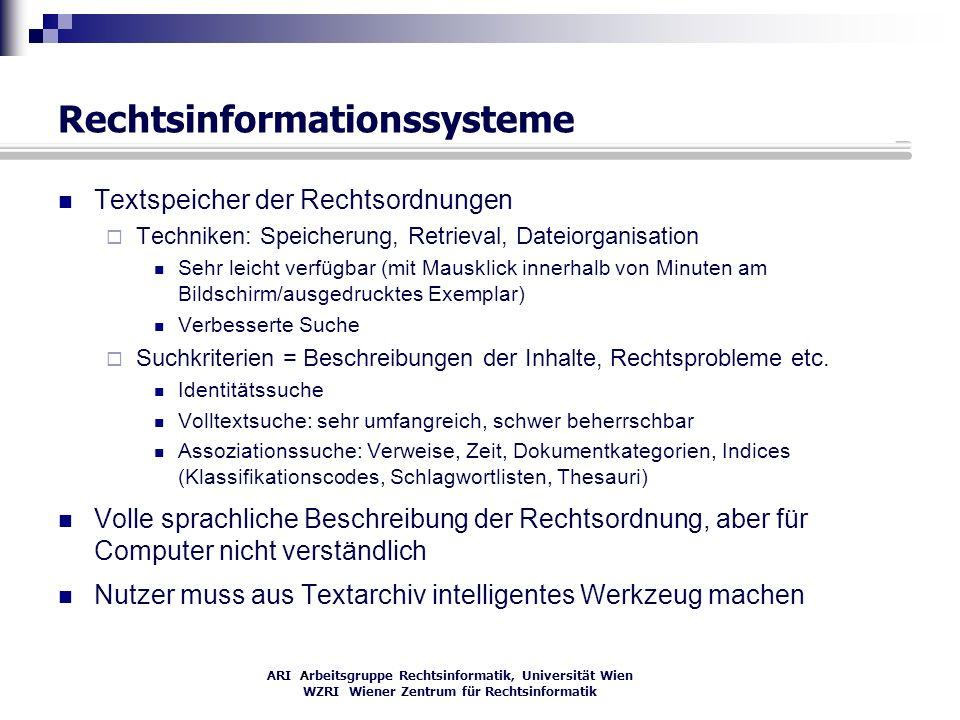 Rechtsinformationssysteme