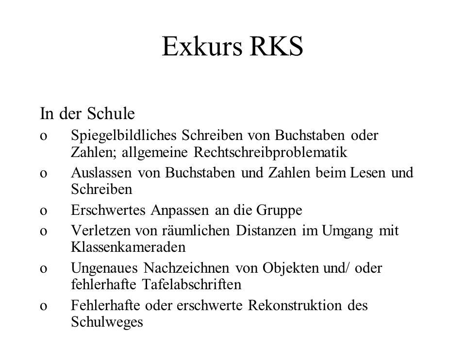Exkurs RKS In der Schule