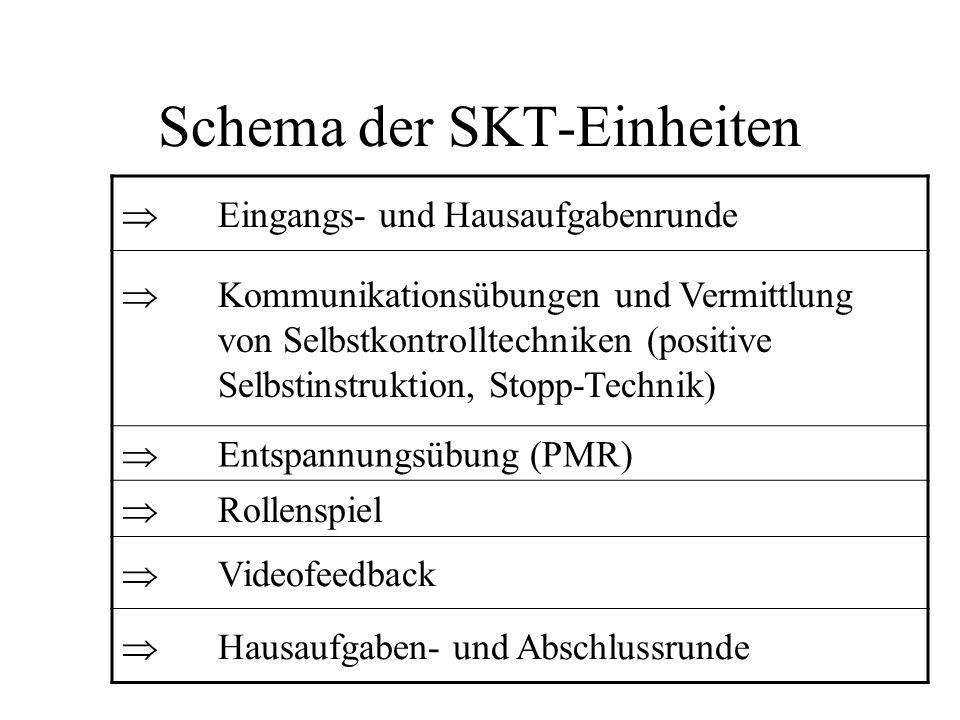 Schema der SKT-Einheiten