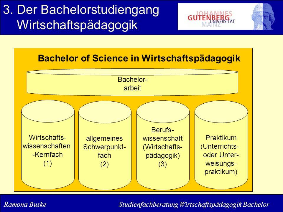 3. Der Bachelorstudiengang Wirtschaftspädagogik