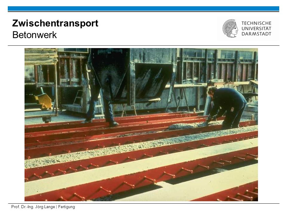 Zwischentransport Betonwerk