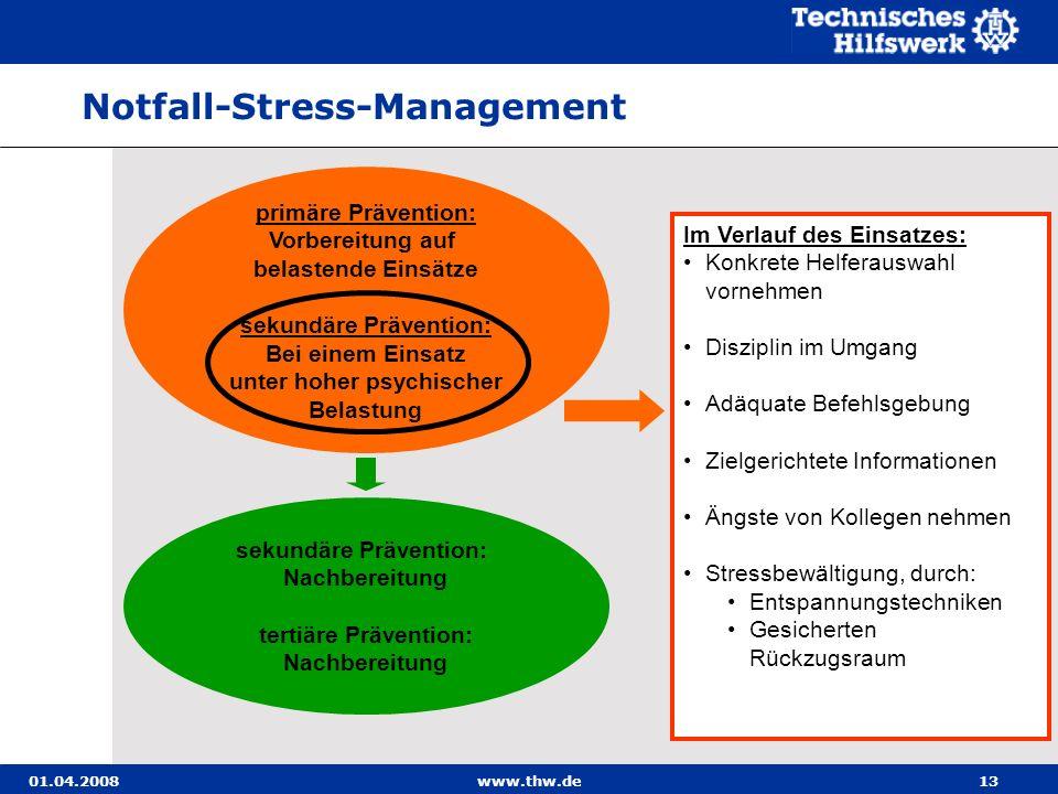 Notfall-Stress-Management