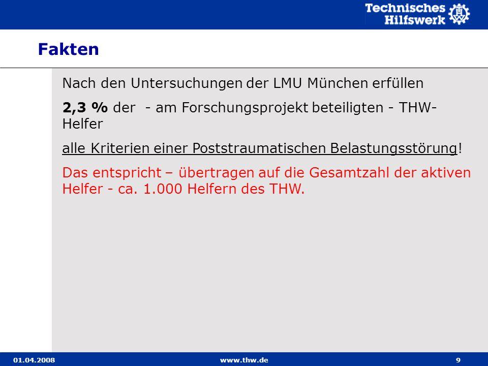 Fakten Nach den Untersuchungen der LMU München erfüllen