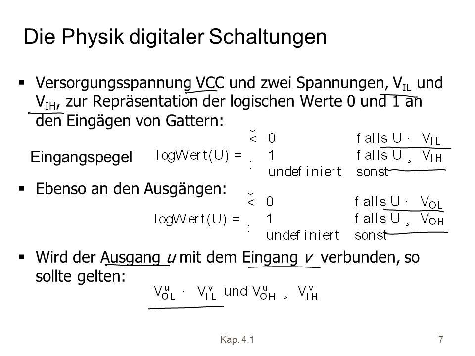 Die Physik digitaler Schaltungen