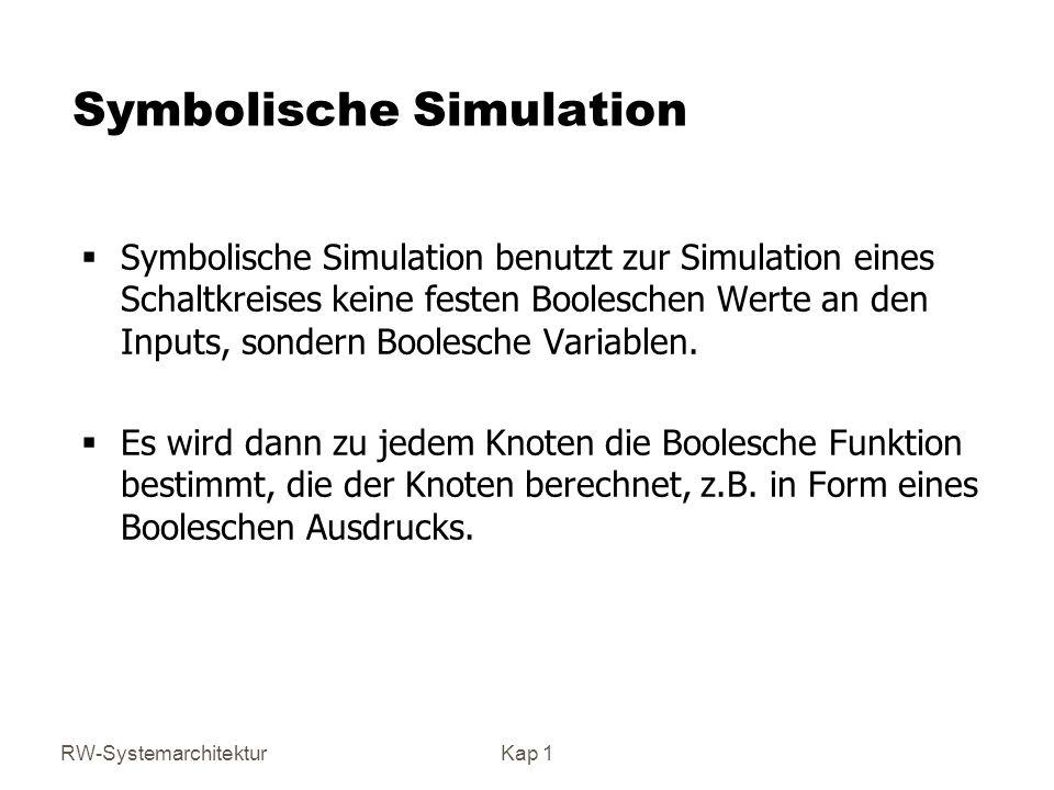Symbolische Simulation