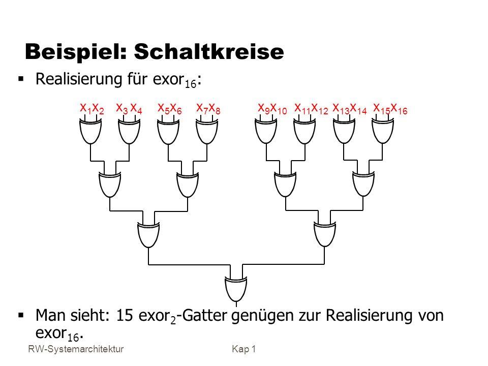 Beispiel: Schaltkreise