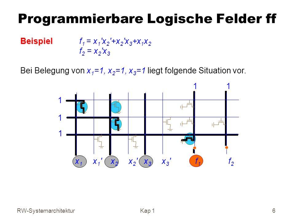Programmierbare Logische Felder ff