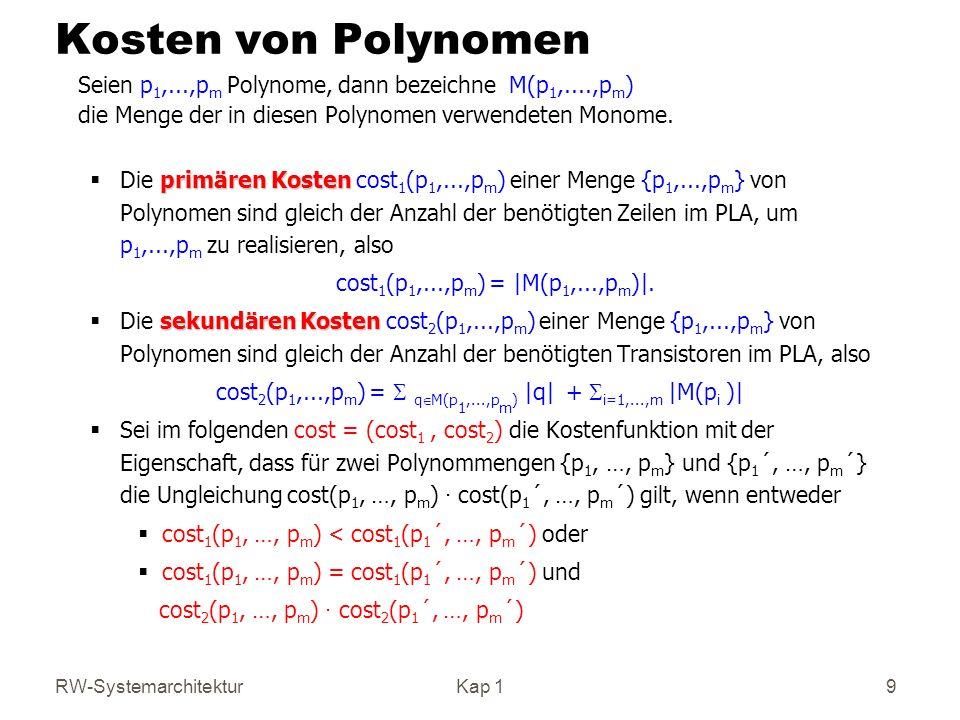 cost2(p1,...,pm) = S qÎM(p1,...,pm) |q| + Si=1,...,m |M(pi )|