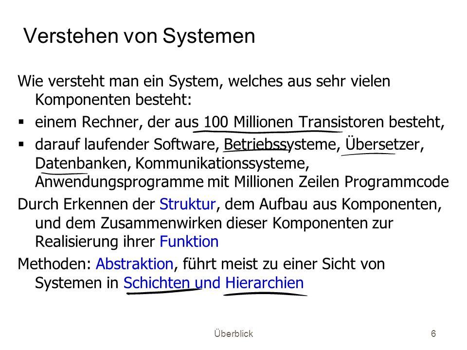 Verstehen von Systemen