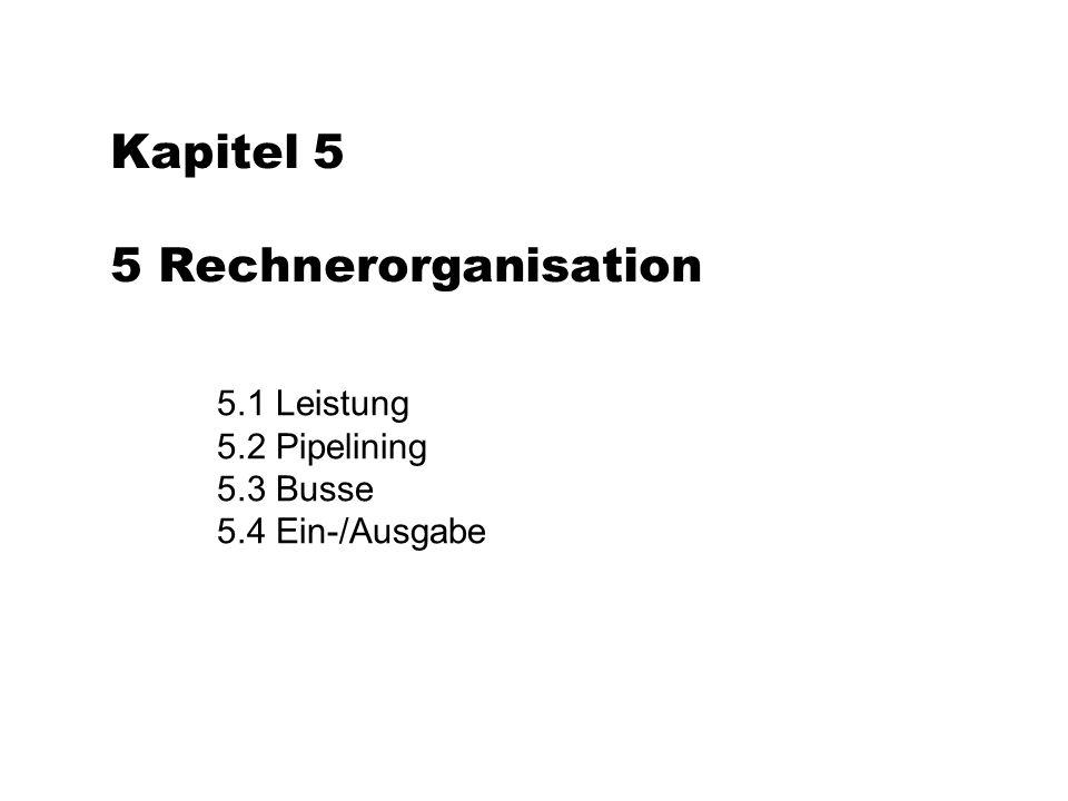 Kapitel 5 5 Rechnerorganisation