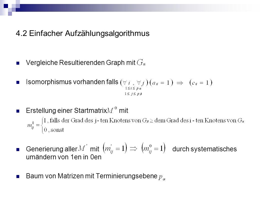 4.2 Einfacher Aufzählungsalgorithmus