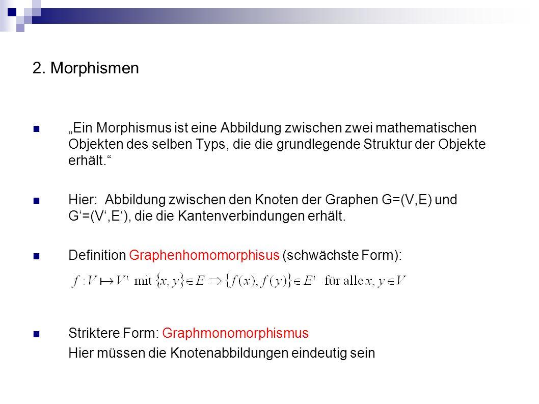 2. Morphismen