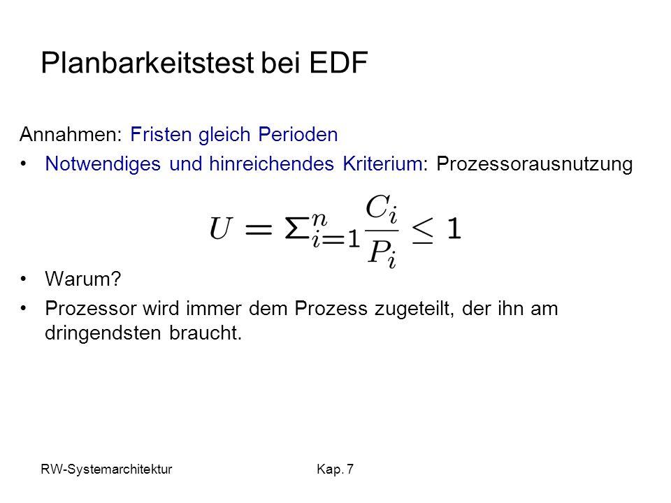 Planbarkeitstest bei EDF