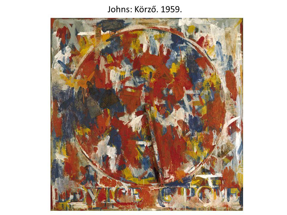Johns: Körző. 1959.