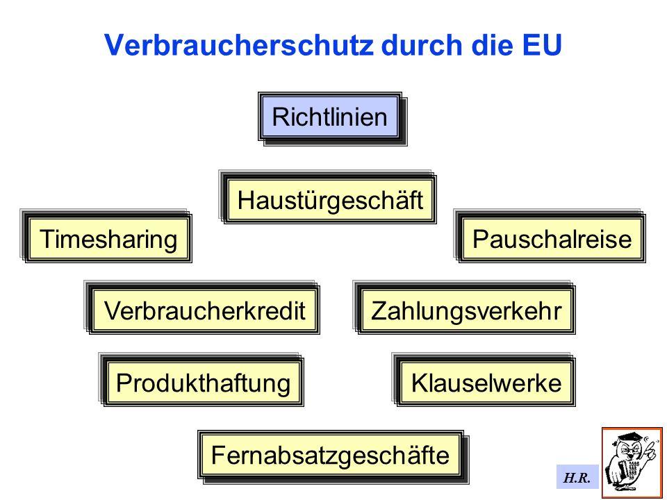Verbraucherschutz durch die EU