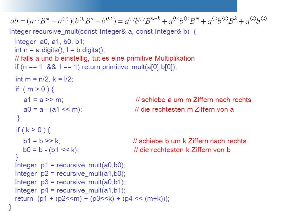 Integer recursive_mult(const Integer& a, const Integer& b) {