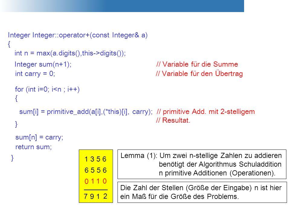 Integer Integer::operator+(const Integer& a)