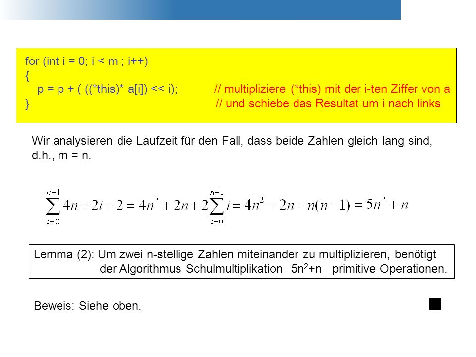 for (int i = 0; i < m ; i++)