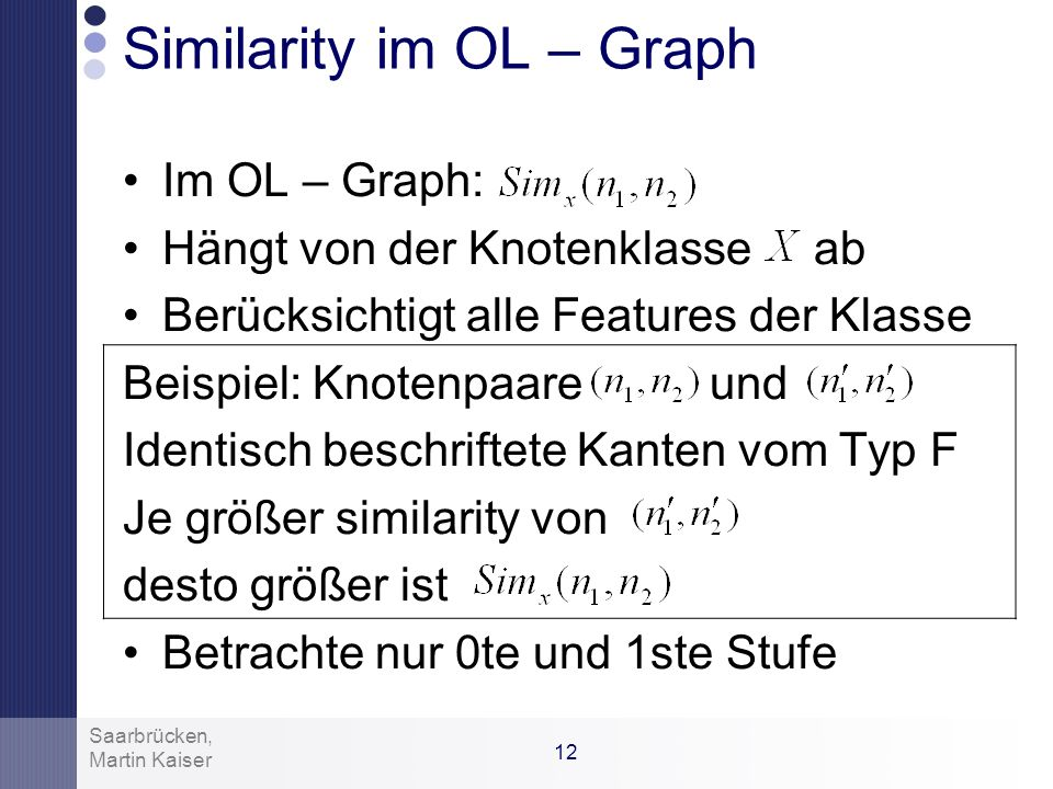 Similarity im OL – Graph